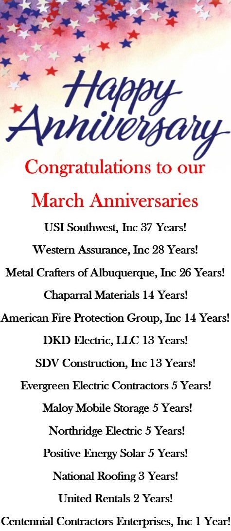Anniversaries March 20637188104077572386