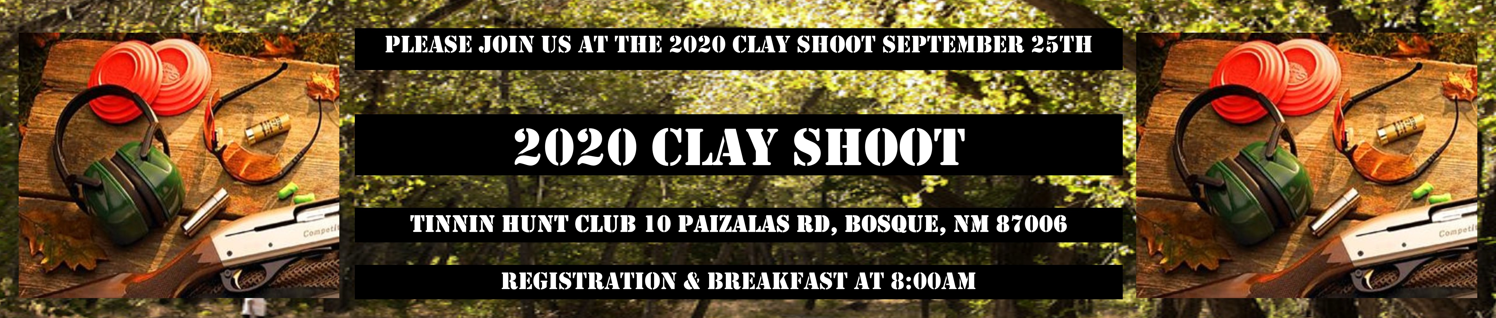 Clay Shoot Banner 2020637089150311065660